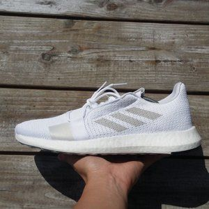 adidas Senseboost Go Cloud White Running Sneakers